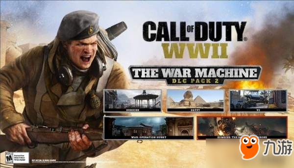 """《使命召唤14》DLC""""战争机器""""公布 新僵尸地图加入"""