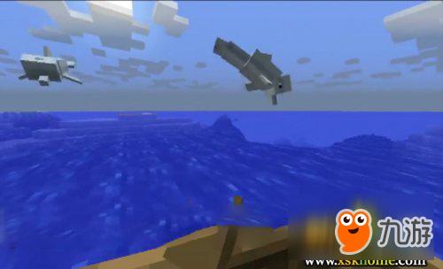 《我的世界》海豚驯服教程 海豚怎么驯服?