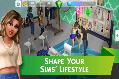 模拟人生移动版游戏截图2