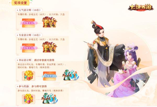 """《大话西游》""""绘彩罗裳""""时装大赛结果公布 大话西游手游 第5张"""