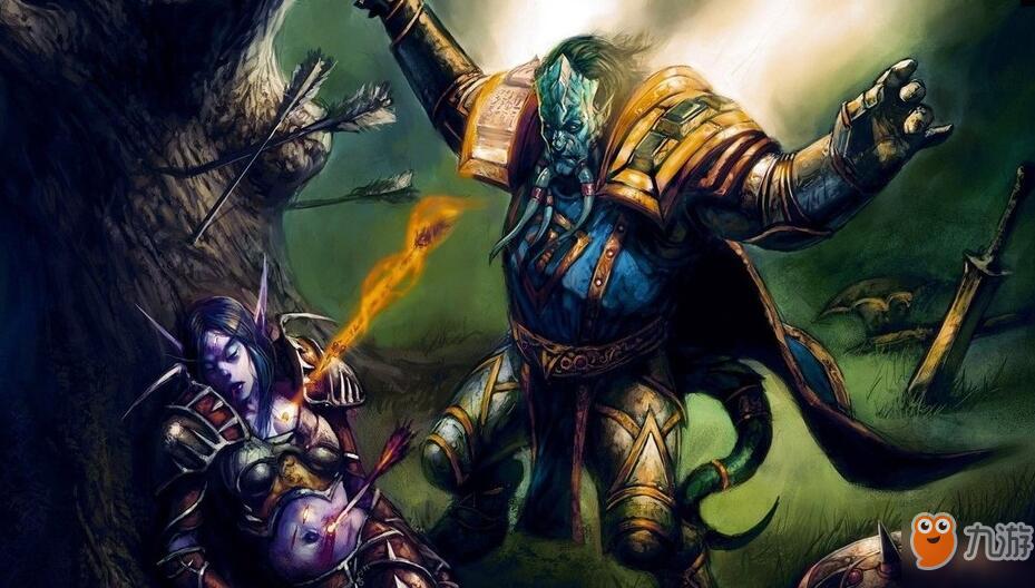 魔兽世界怀旧服战士群拉图片