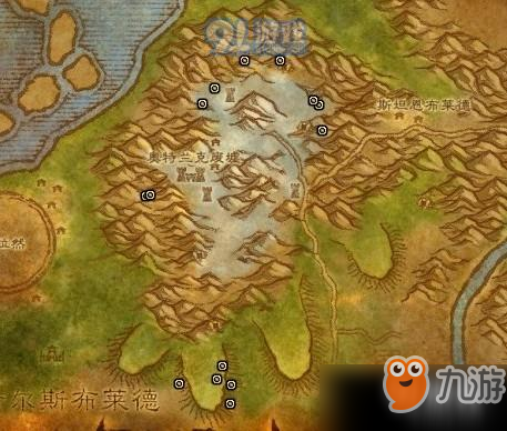 魔兽世界怀旧服奥特兰克山脉矿点在哪?奥特兰克山脉矿点在图文介绍