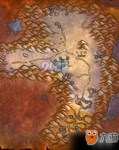 魔兽世界怀旧服矿点插件图片