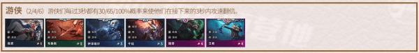 《云顶之弈手游》S2上分阵容推荐:游侠阵容上分攻略