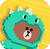 布朗熊快跑