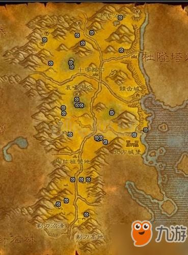 诅咒之地矿点图片