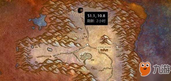 魔兽世界怀旧服拉克西里坐标图片