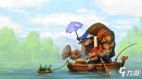 魔兽世界怀旧服联盟鱼竿图片