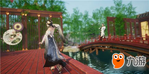 虚幻4画质下洗温泉是什么体验 剑歌行告诉你会有多爽
