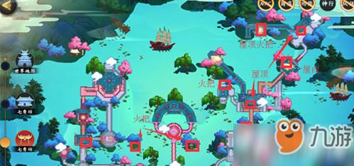 剑网3指尖江湖七秀地图宝箱在哪 七秀地图宝箱位置