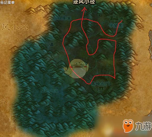魔兽世界怀旧服银矿矿点图片