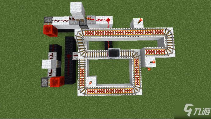 我的世界红石教程自动变轨装置怎么搭建