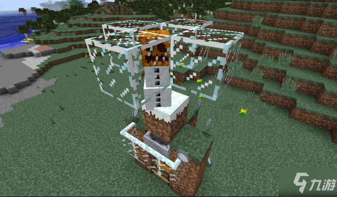 我的世界自动造雪机怎么制作 造雪机器建造教程