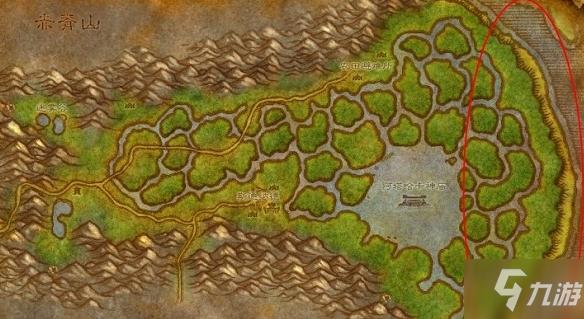 魔兽世界怀旧服地图图片