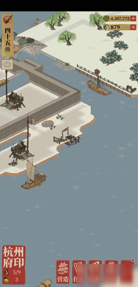 江南百景图杭州船埠在哪 杭州船埠地位及开启路途攻略