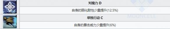FGO织田信胜技艺引见