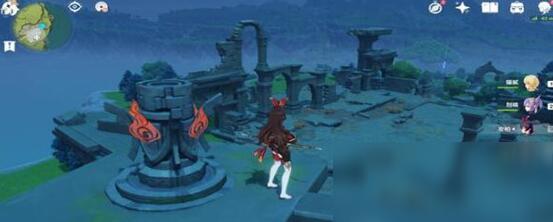 《原神》千风神殿4个元素柱子的位置
