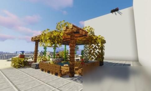 《我的世界》花园建筑教程