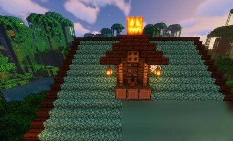 《我的世界》复古风格小屋教程
