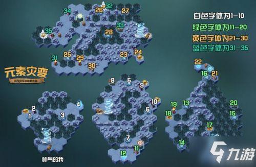 《剑与远征》元素灾变怎么过 元素灾变速通路线图一览