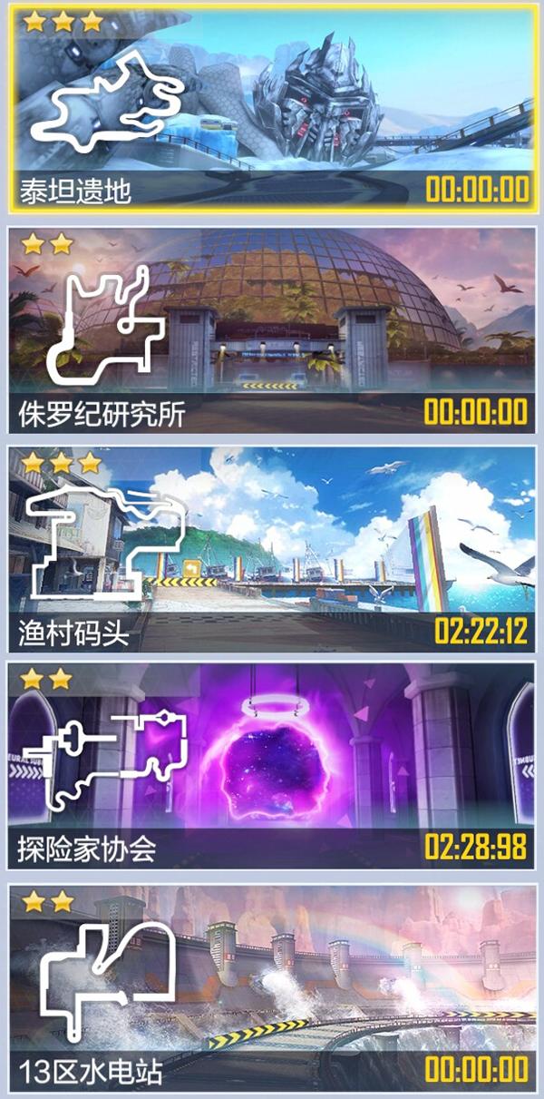 《一起来飞车2》最新内部版本 新增5张地图!