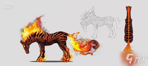 我的起源火炎斑马厉害吗?新宠物火炎斑马技能评价
