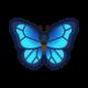 《集合啦动物森友会》大蓝闪蝶怎么样 大蓝闪蝶属性资料图鉴