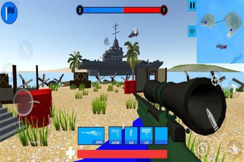 战地模拟游戏截图0