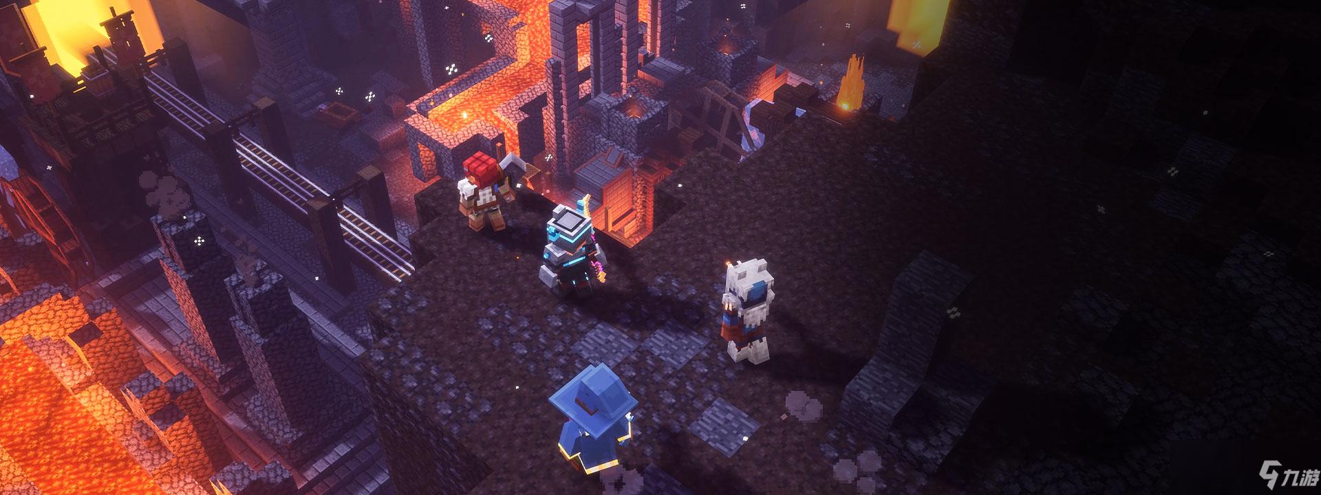 《我的世界:地下城》中文版预告 官网预购已开启