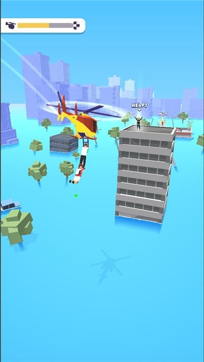 直升机飞行救援好玩吗 直升机飞行救援玩法简介