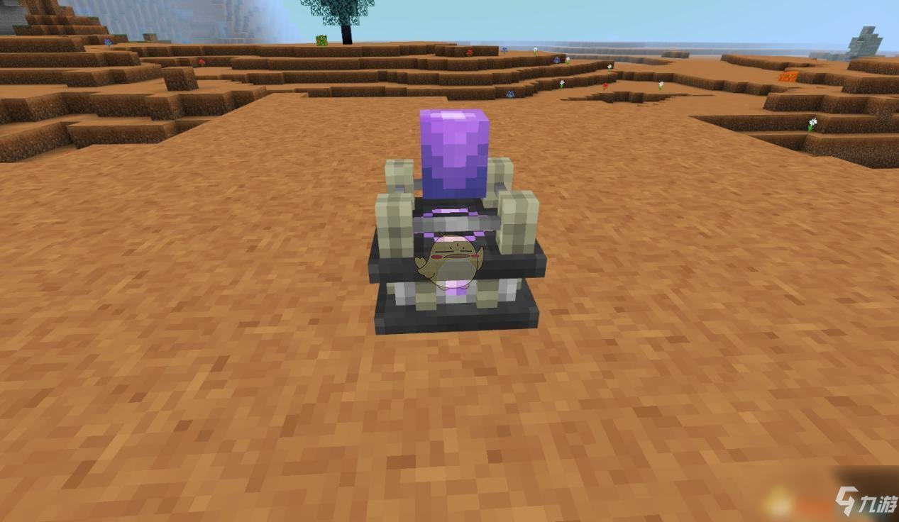 《我的世界》星际探索迫降机器合成方法