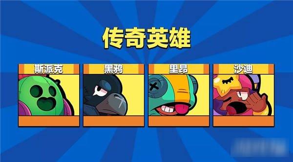 荒野乱斗传奇英雄有哪些 橙色传奇英雄介绍