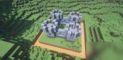 我的世界怎么建城堡