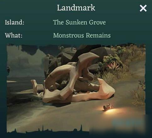 盗贼之海西北海滩上可怕的遗迹在哪 TheSunkenGrove解谜答案介绍