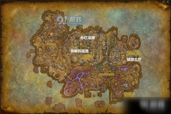 《魔兽世界》9.0赤红深渊位置在哪 9.0赤红深渊位置分享