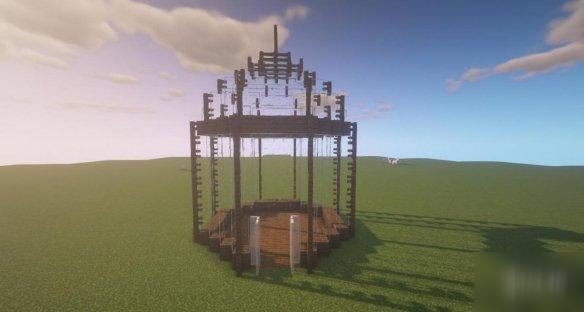 《我的世界手游》玻璃花房怎么建 鸟笼型玻璃花房建造图文流程攻略