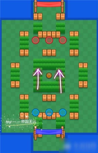 《荒野乱斗》足球模式精准射门地图攻略