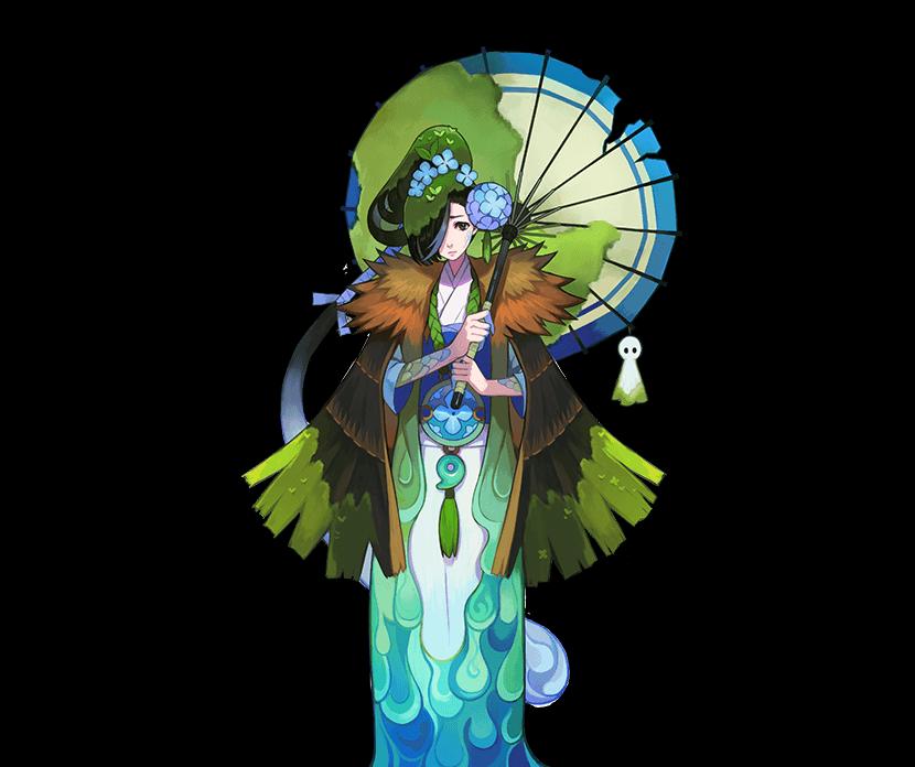 阴阳师手持纸伞的式神有几个