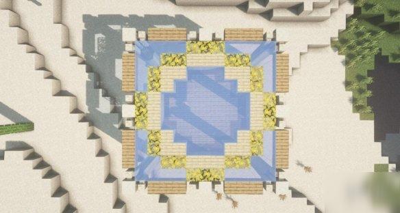 《我的世界手游》沙漠图书馆怎么建 沙漠图书馆建造图文攻略