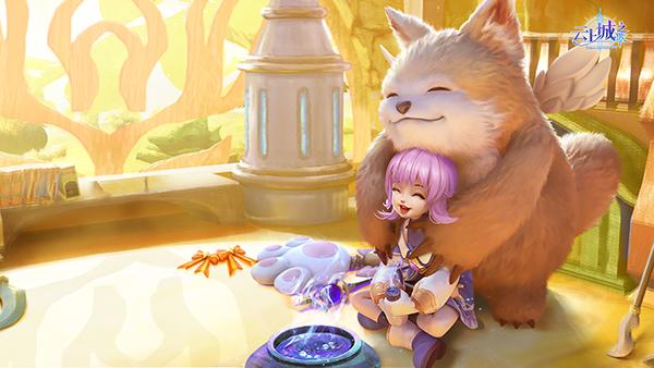 《云上城之歌》全新明星宠物 萌系天使神兽