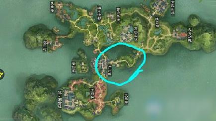 2020《一梦江湖》手游9月15日坐观万象打坐位置