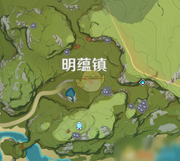 《原神》夜泊石获取方法及位置介绍