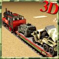 Army Vehicles Transport Train