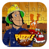 fireman alphabet puzzle