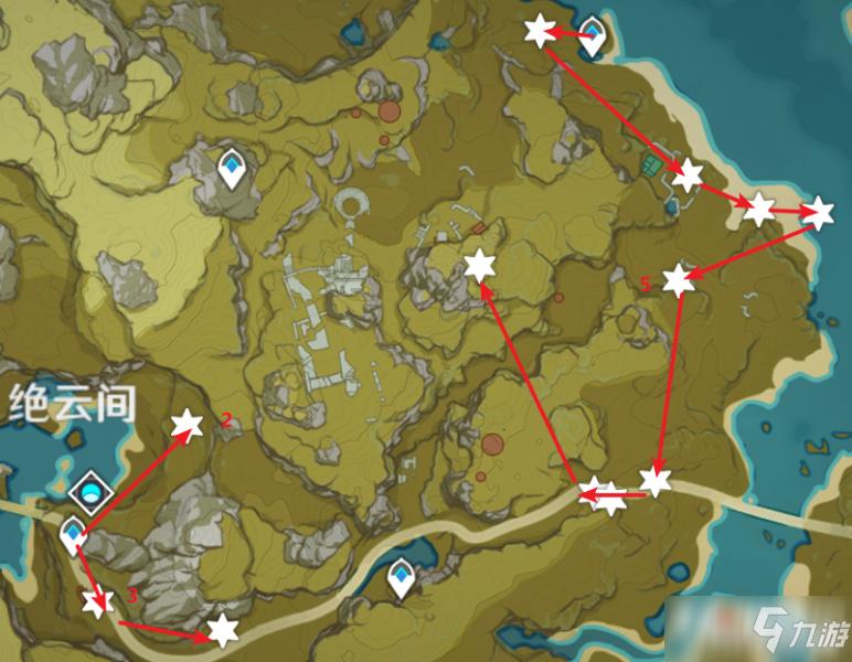 《原神》圣遗物狗粮收集路线攻略