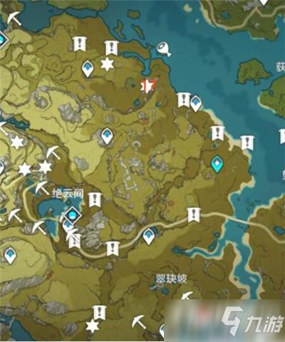 《原神》魔晶矿刷新位置_手心游戏