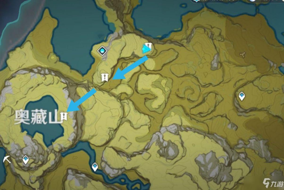 《原神》奥藏山遗迹宝藏获取攻略