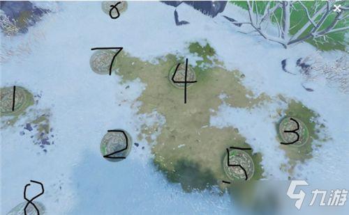 原神雪山八个圆盘点亮顺序是什么 原神雪山八个圆盘解密攻略