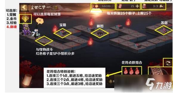 阴阳师花海探索怎么玩 花海探索通关教程