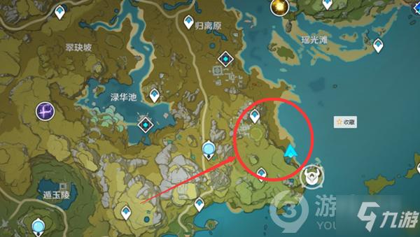 原神岩史莱姆位置介绍
